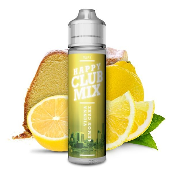 HAPPY CLUB MIX - Vienna Lemon Cake 10 ml Aroma