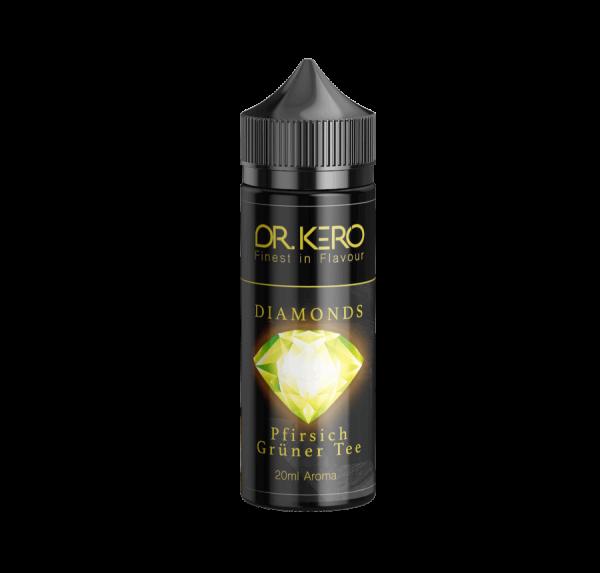 Dr. Kero - Diamonds - Pfirsich Grüner Tee Aroma 20 ml