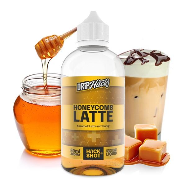 DRIP HACKS Honeycomb Latte 50ml Aroma Longfill