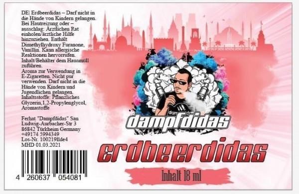 Dampfdidas - Erdbeerdidas Aroma 18 ml