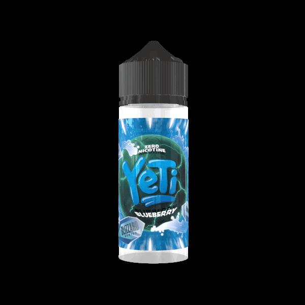 Yeti - Blizzard Blueberry Liquid 100 ML / 0 MG