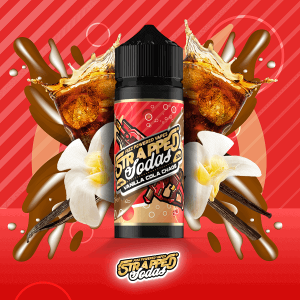 Strapped Soda - Vanilla Cola Chaos Aroma 30 ml