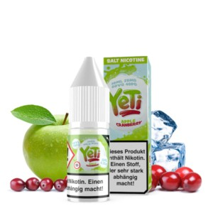 Yeti - Apple Cranberry Liquid 10 ML / 20 MG NicSalt