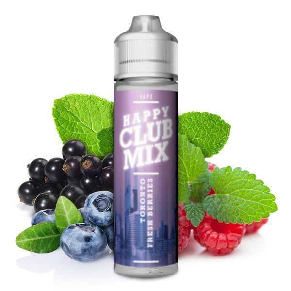 HAPPY CLUB MIX - Toronto Fresh Berries 10 ml Aroma
