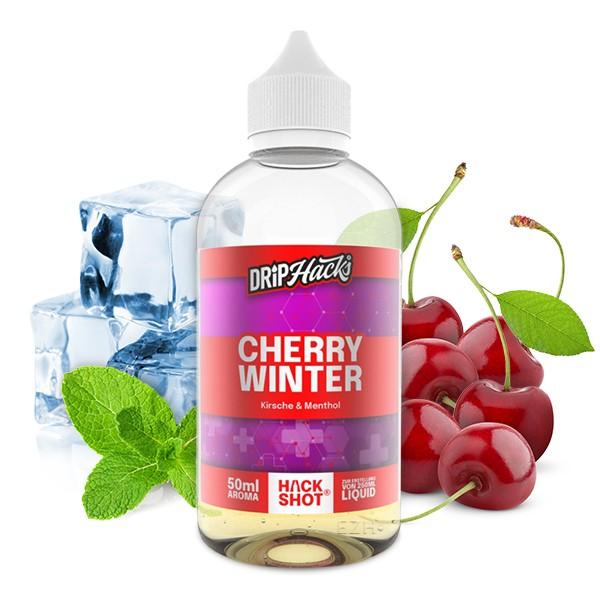DRIP HACKS Cherry Winter 50ml Aroma Longfill