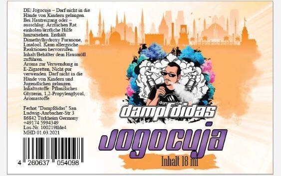 Dampfdidas - Jogocuja Aroma 18 ml