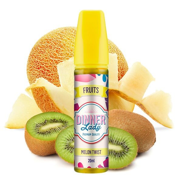 Dinner Lady Fruits Melon Twist Aroma 20 ml